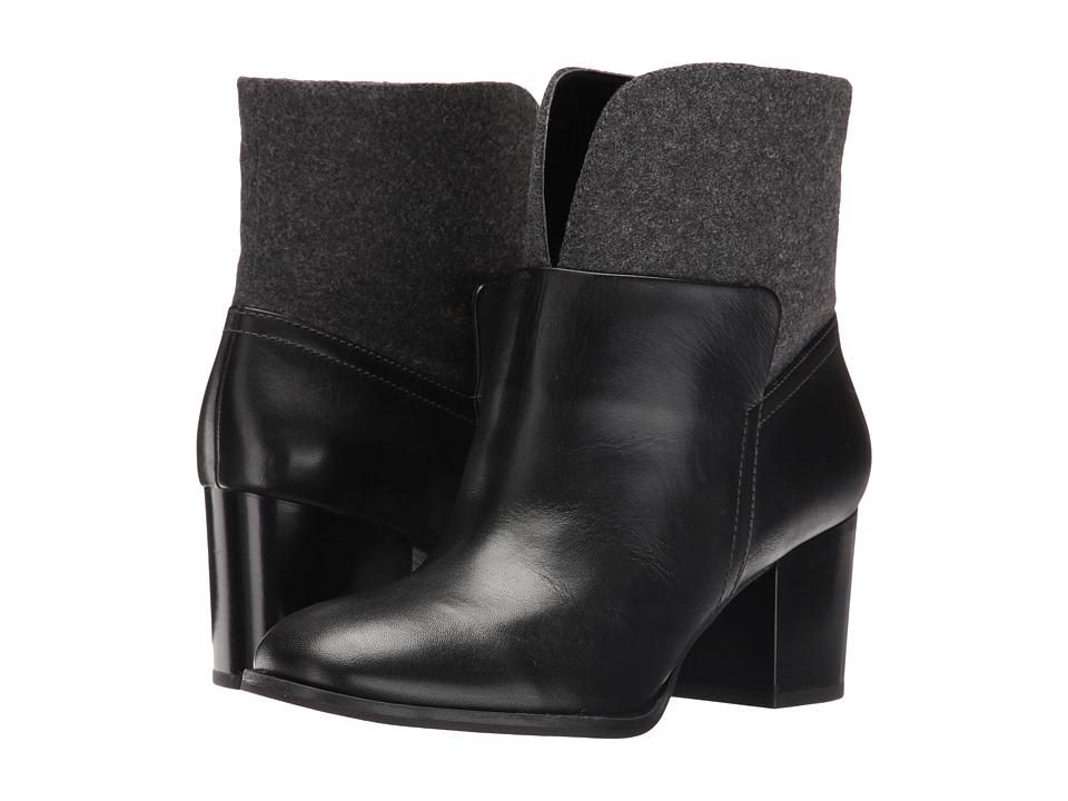 Nine West Dale (Black/Pewter Leather) Women