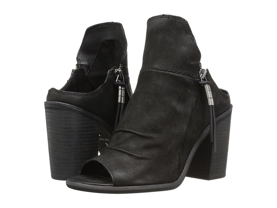 Dolce Vita - Lennox (Black Nubuck) Women's Shoes