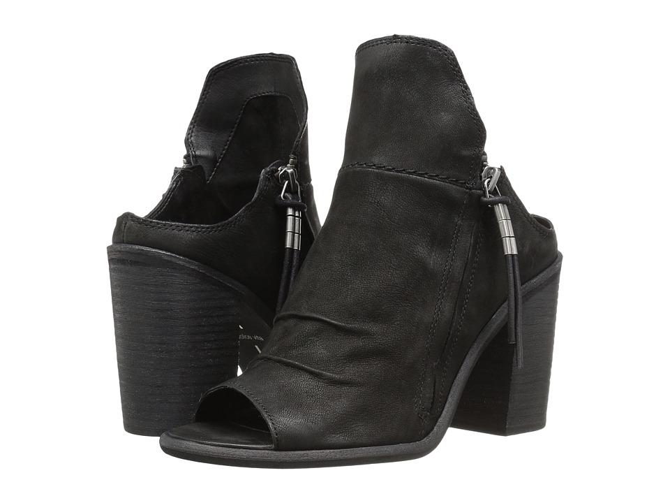 Dolce Vita - Lennox (Black Nubuck) Women's Shoes