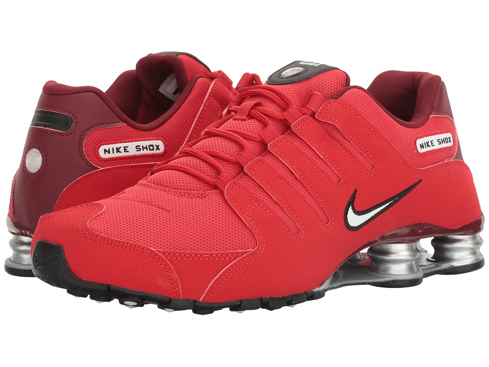 Nike - Shox NZ (University Red/White/Team Red/Black) Men's Shoes