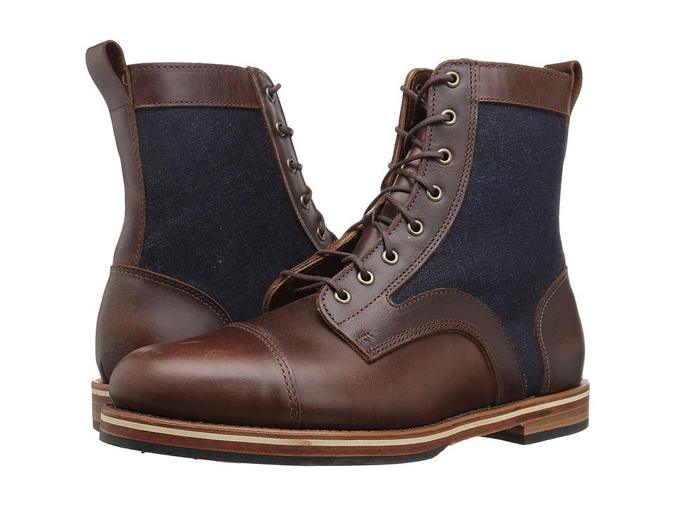 HELM Boots - Reid Tall (Brown) Men's Boots