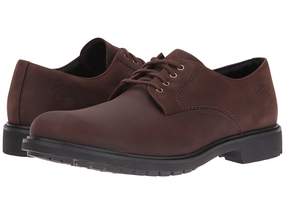 Timberland - Concourse Buck Plain Toe (Dark Brown) Men