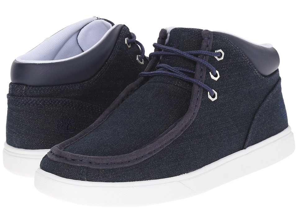 Timberland Groveton Moc Toe Chukka (Blue Denim) Men