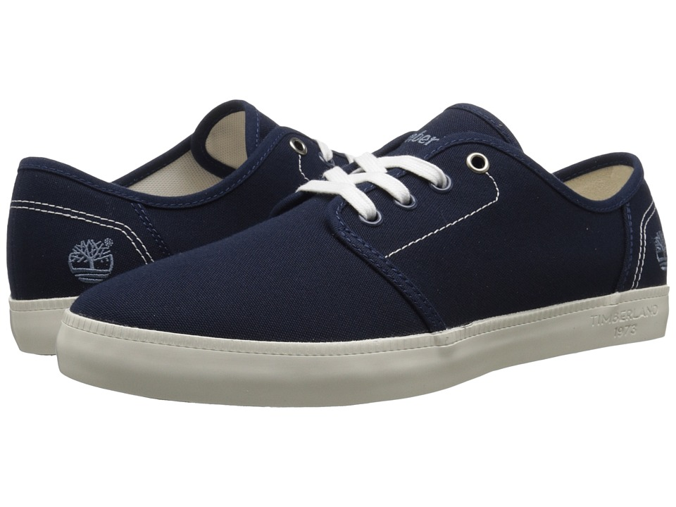 Timberland - Newport Bay Canvas Oxford (Navy) Men's Shoes