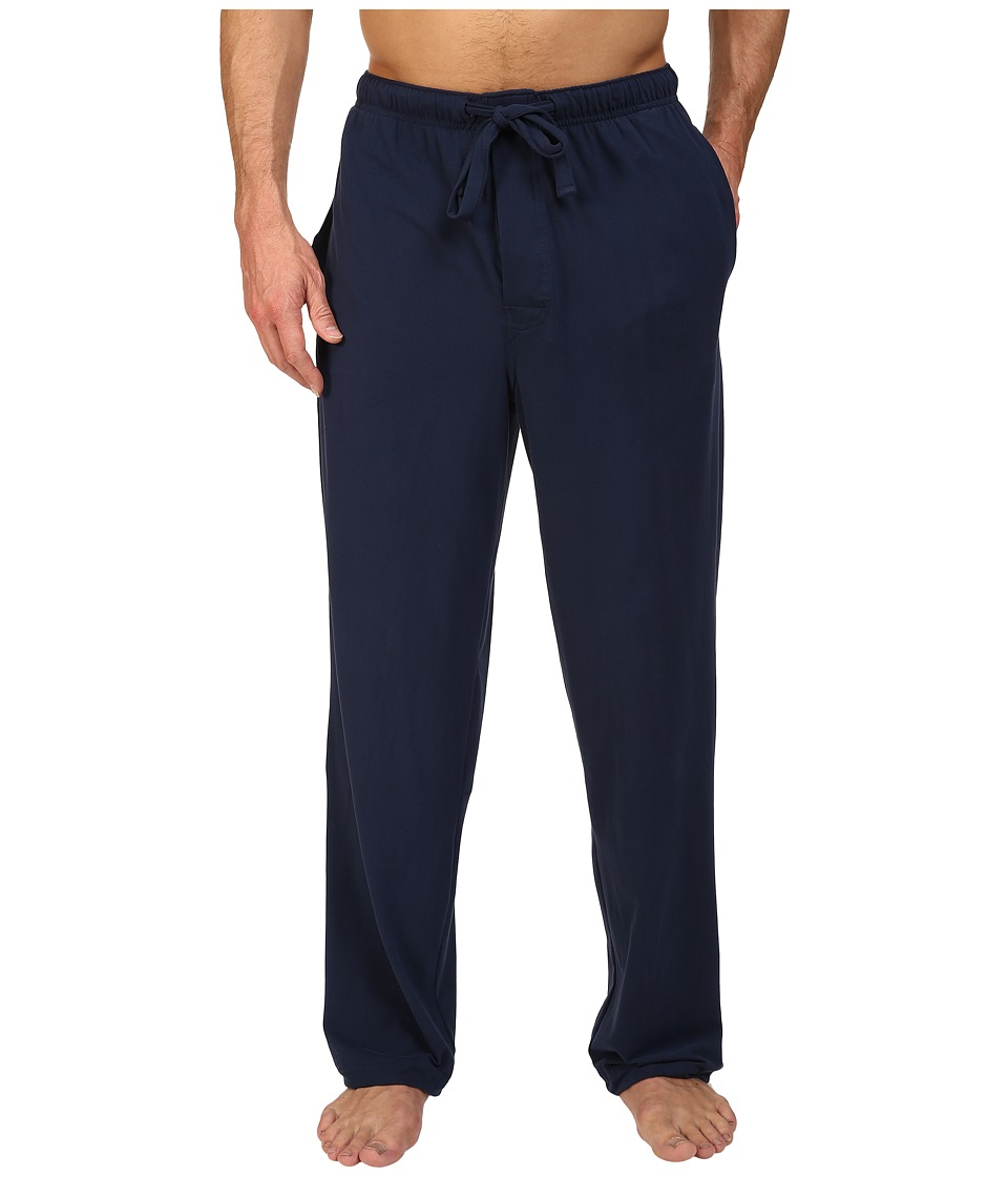Jockey - Cool-Sleep Sueded Jersey Pants (Navy) Men's Pajama