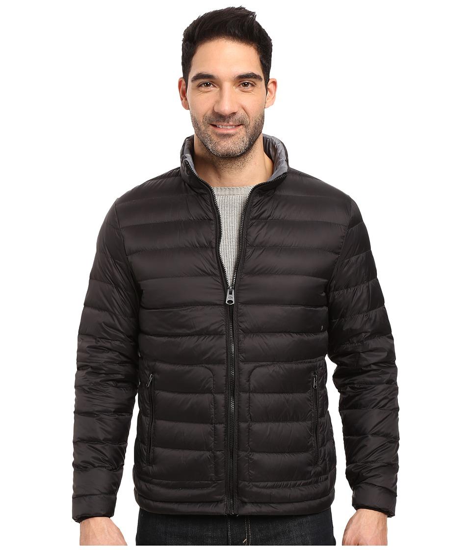 Buffalo David Bitton - Quilted Jacket (Black) Men's Coat