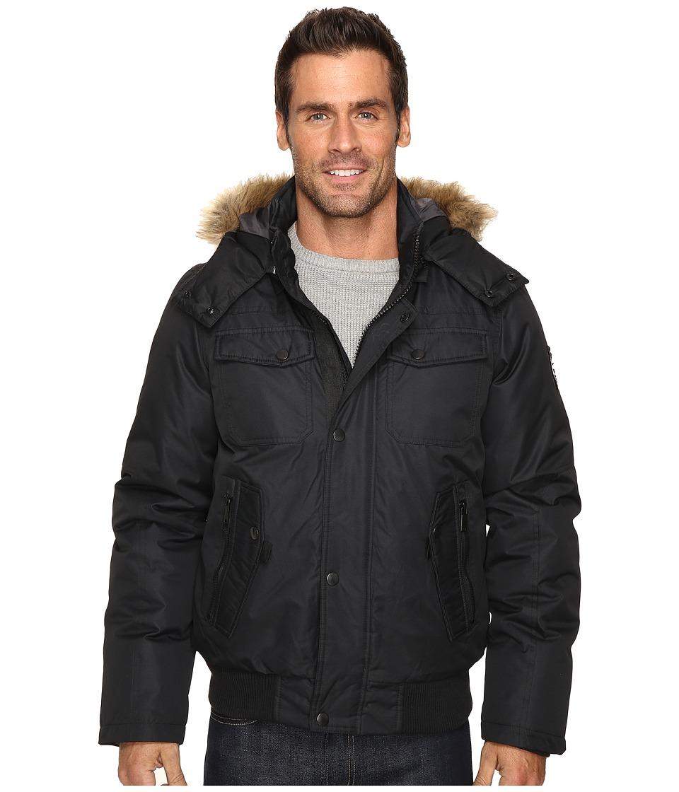 Buffalo David Bitton - Brushed Radiance Jacket (Black) Men's Coat
