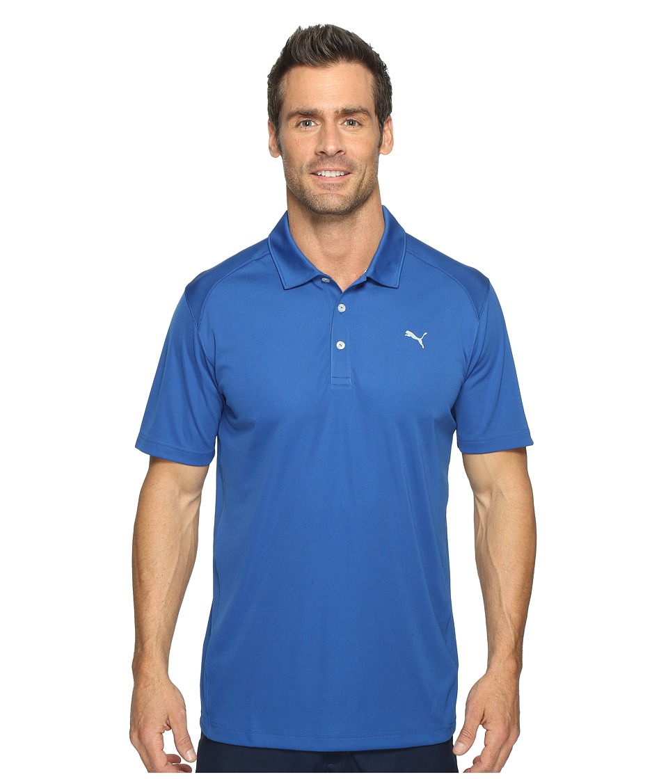 PUMA Golf - ESS Pounce Polo (True Blue) Men's Clothing