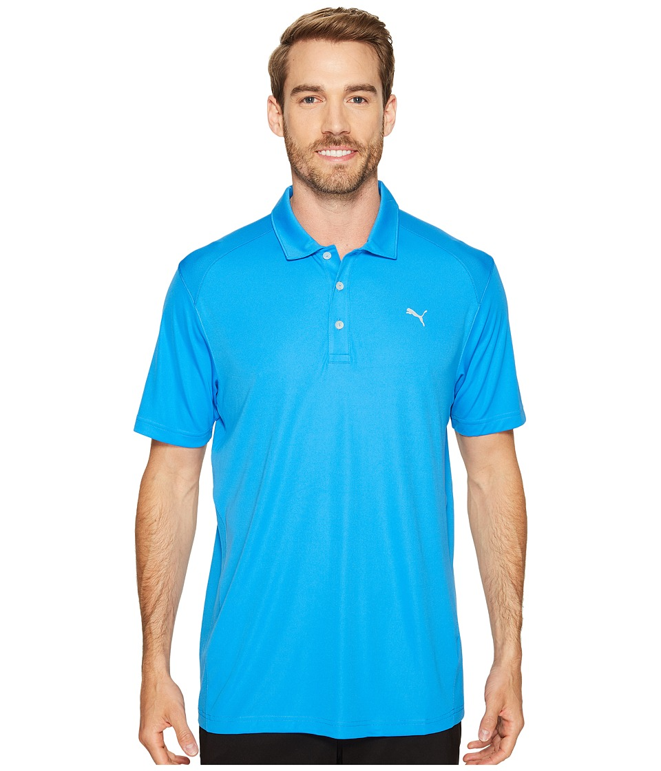 PUMA Golf - ESS Pounce Polo (French Blue) Men's Clothing