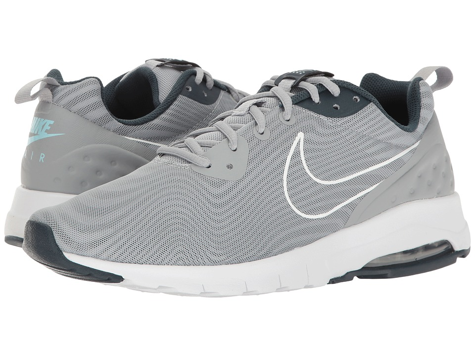 Nike - Air Max Motion Low Premium (Wolf Grey/Wolf Grey/Amory Navy) Men's Running Shoes