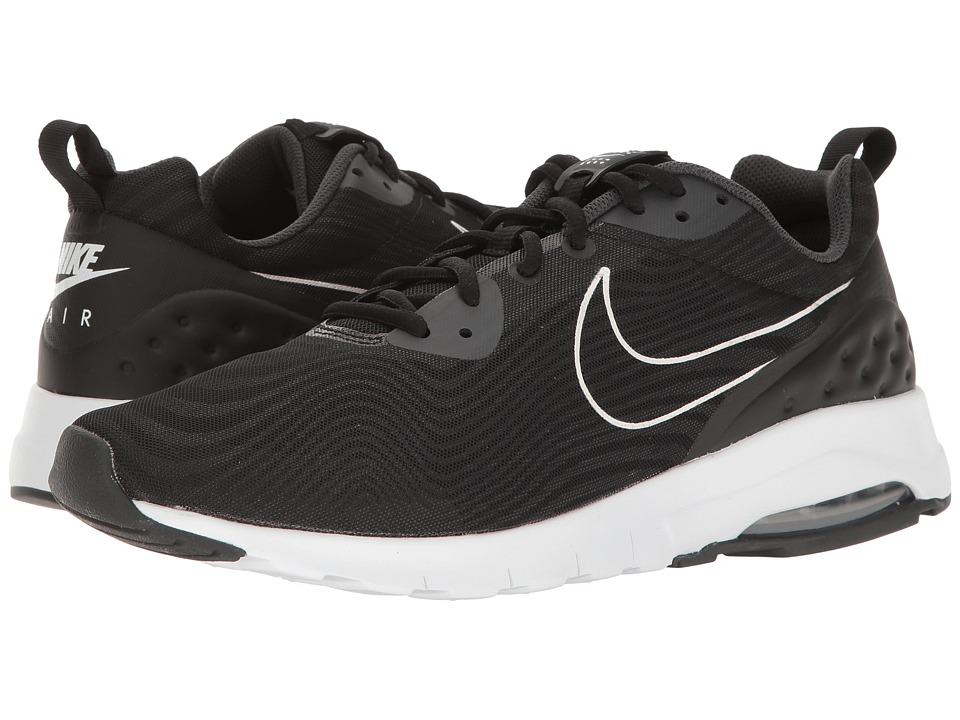 Nike - Air Max Motion Low Premium (Black/Black/Anthracite) Men's Running Shoes