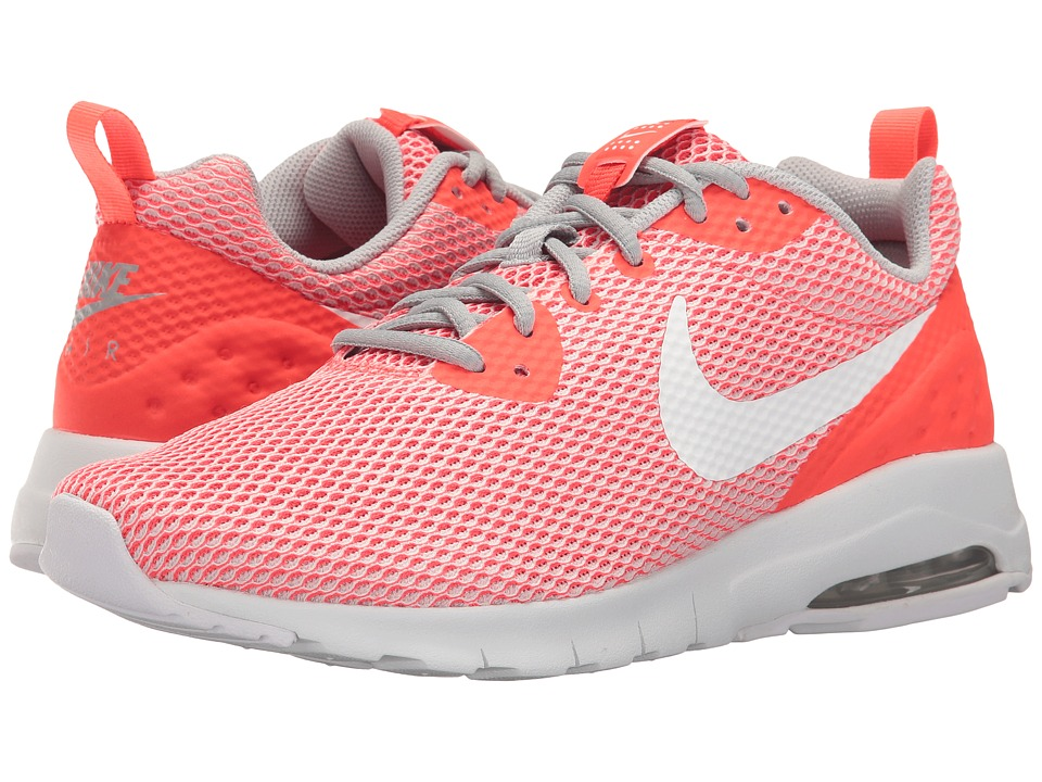 Nike - Air Max Motion Low SE (Bright Crimson/White/Wolf Grey) Men's Shoes