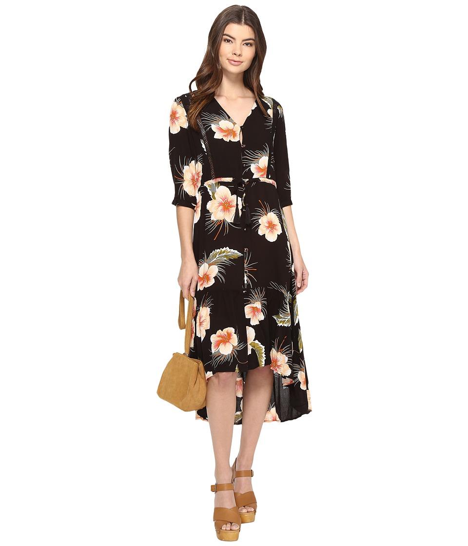 Volcom Not Over It Duster Dress (Black) Women