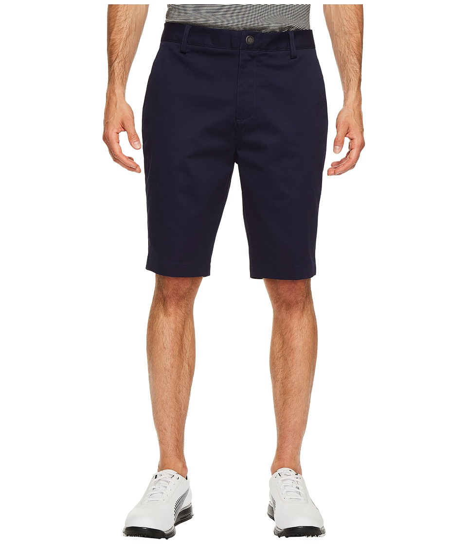 PUMA Golf - Tailored Chino Shorts (Peacoat) Men's Shorts