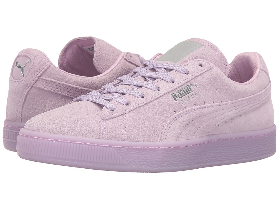 PUMA - Suede Classic Mono Ref Iced (Orchid Bloom/PUMA Silver) Women's Shoes