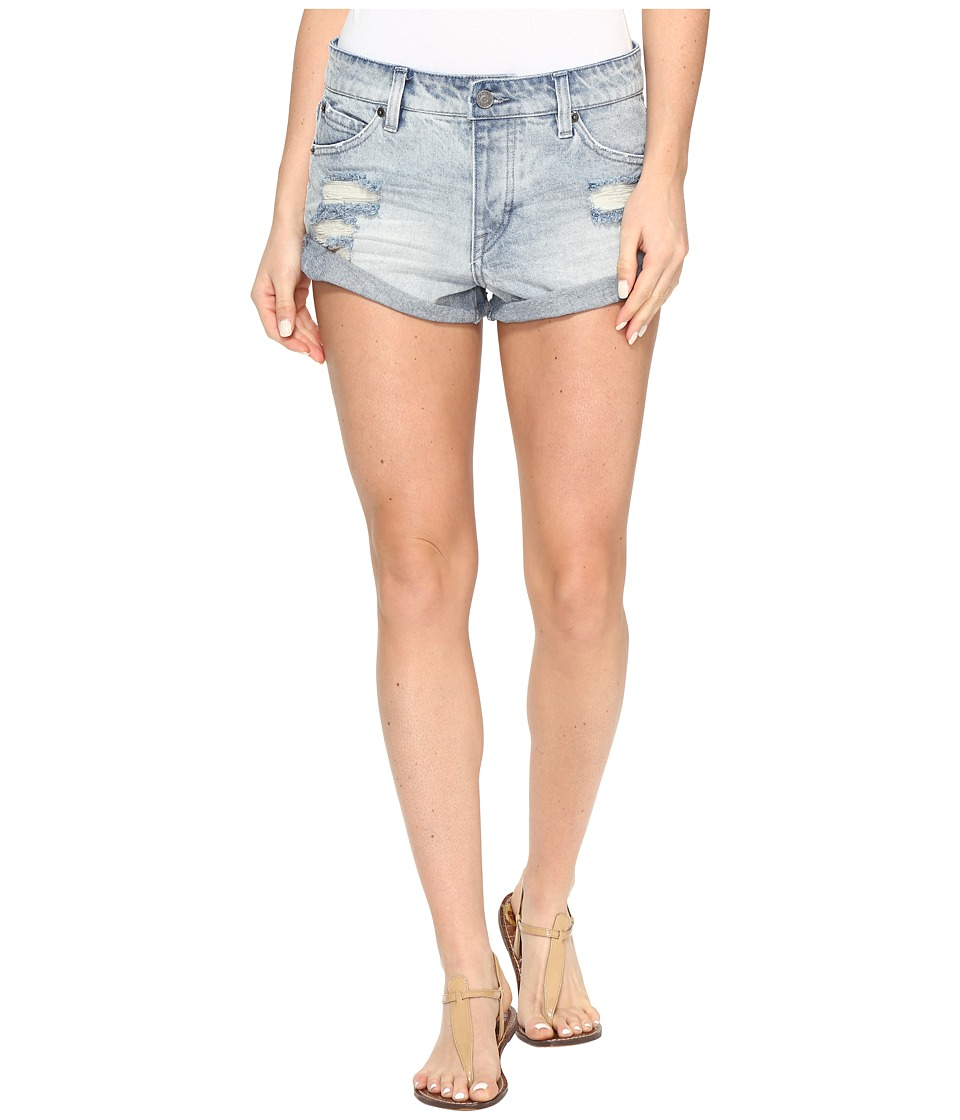 Volcom - Stoned Shorts Rolled (Cloud Blue) Women's Shorts