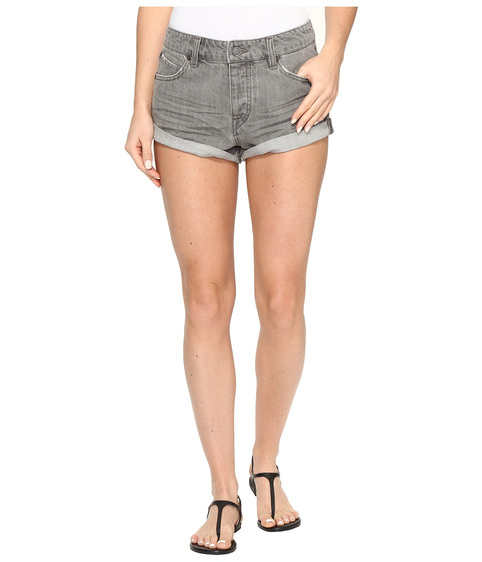 Volcom - Stoned Shorts Rolled (Grey Vintage) Women's Shorts
