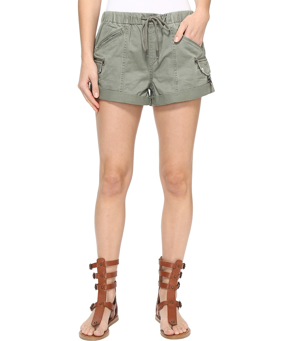 Volcom - Stash Shorts (Army Green Combo) Women's Shorts