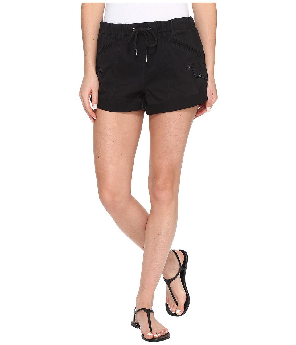 Volcom - Stash Shorts (Black) Women's Shorts