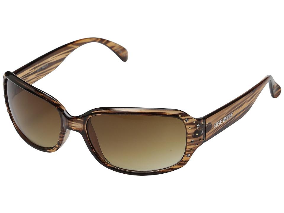 Steve Madden - Kim (Brown) Fashion Sunglasses
