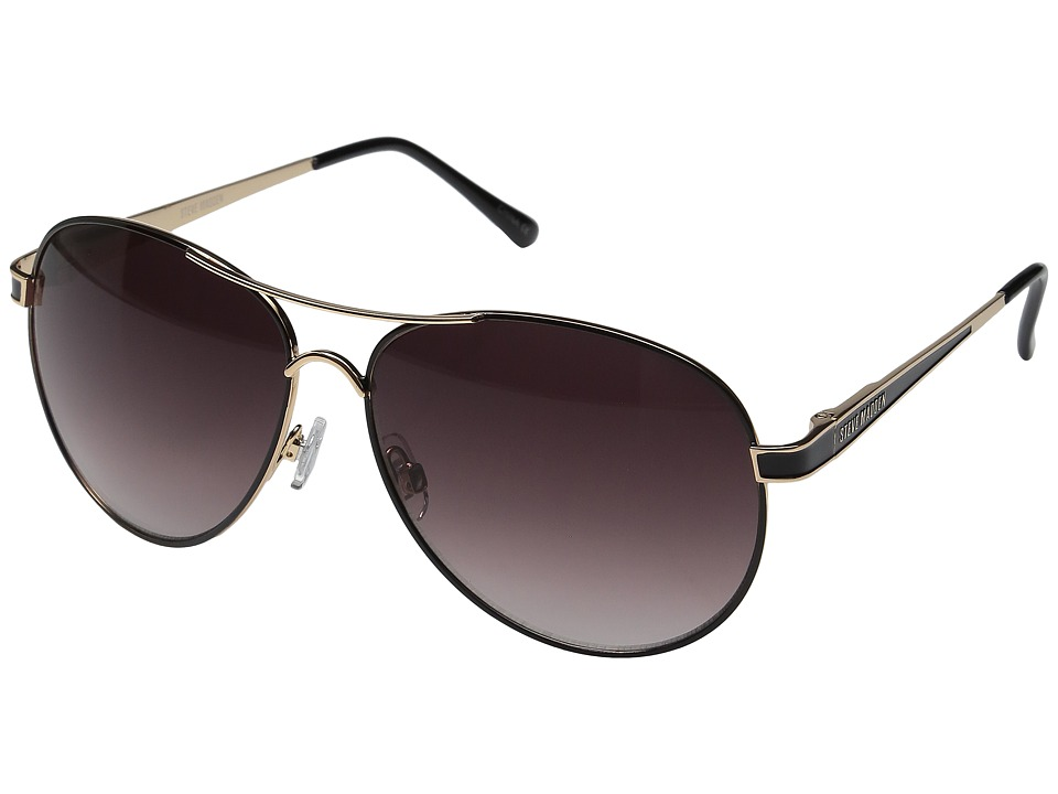 Steve Madden - Lauren (Gold/Black) Fashion Sunglasses