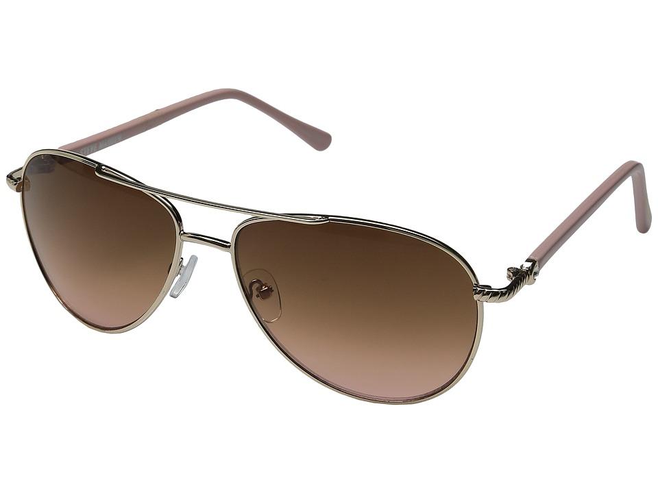 Steve Madden - Nina (Gold) Fashion Sunglasses