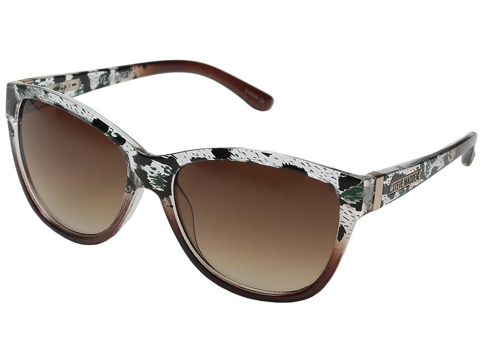 Steve Madden - Amanda (Brown/Animal) Fashion Sunglasses