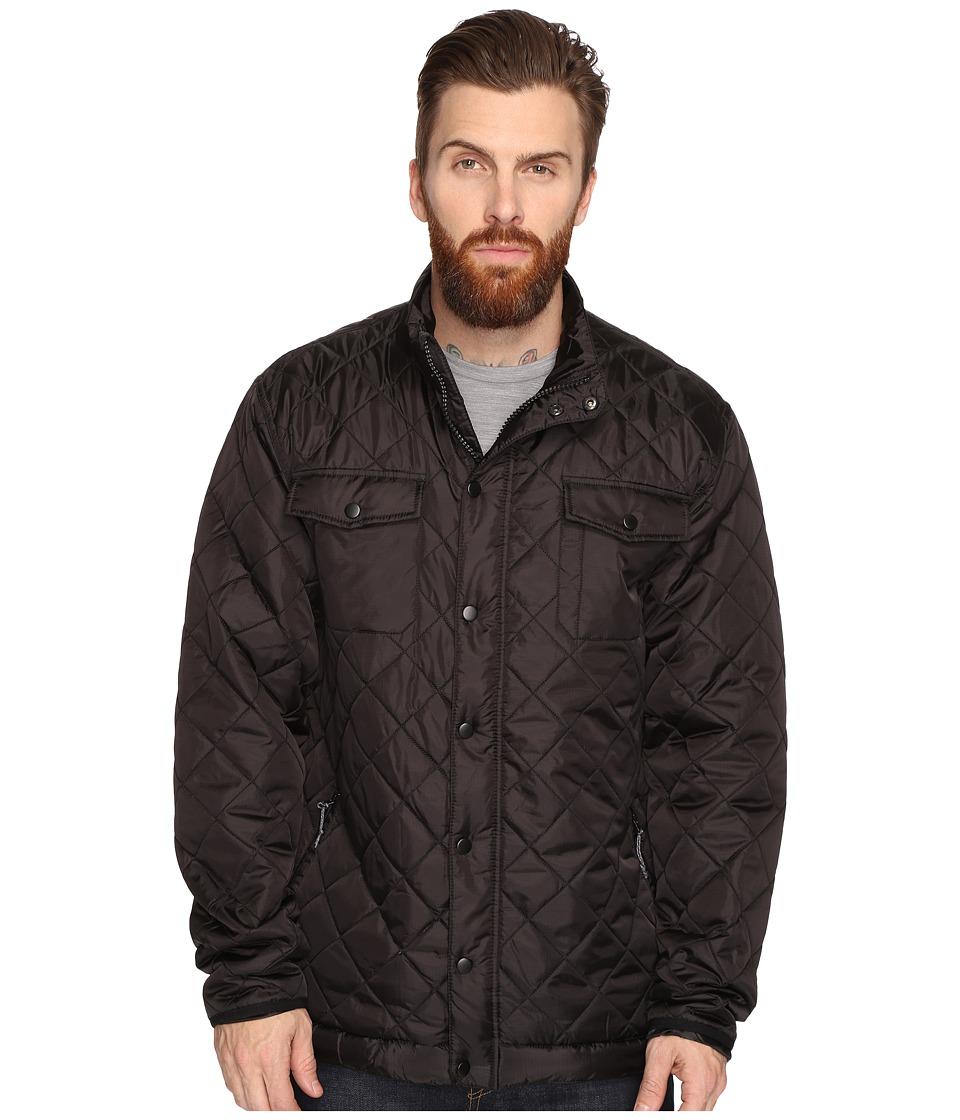 Captain Fin - Semi Puff Jacket (Black) Men's Coat