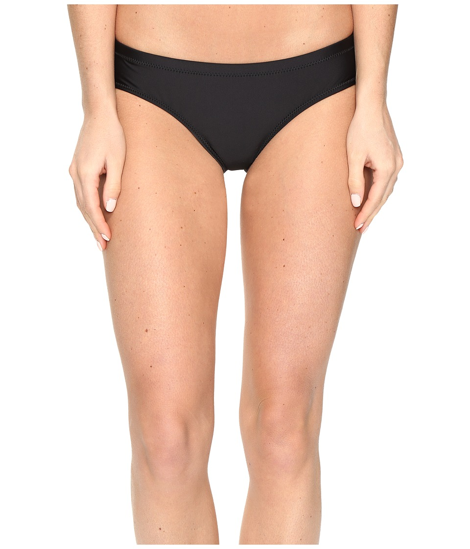 Volcom - Simply Solid Cheeky Bottom (Black) Women's Swimwear