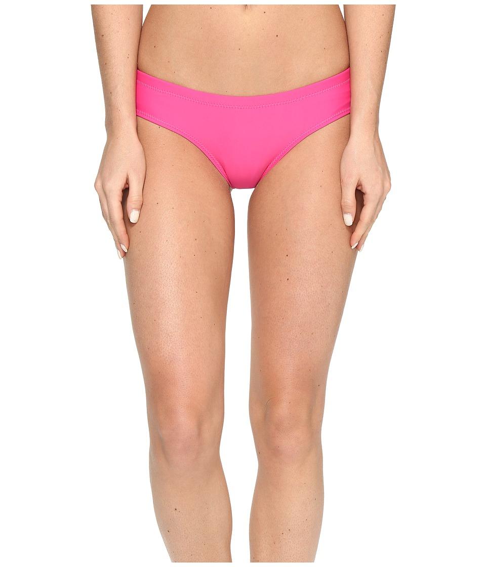 Volcom - Simply Solid Cheeky Bottom (Scream Magenta) Women's Swimwear