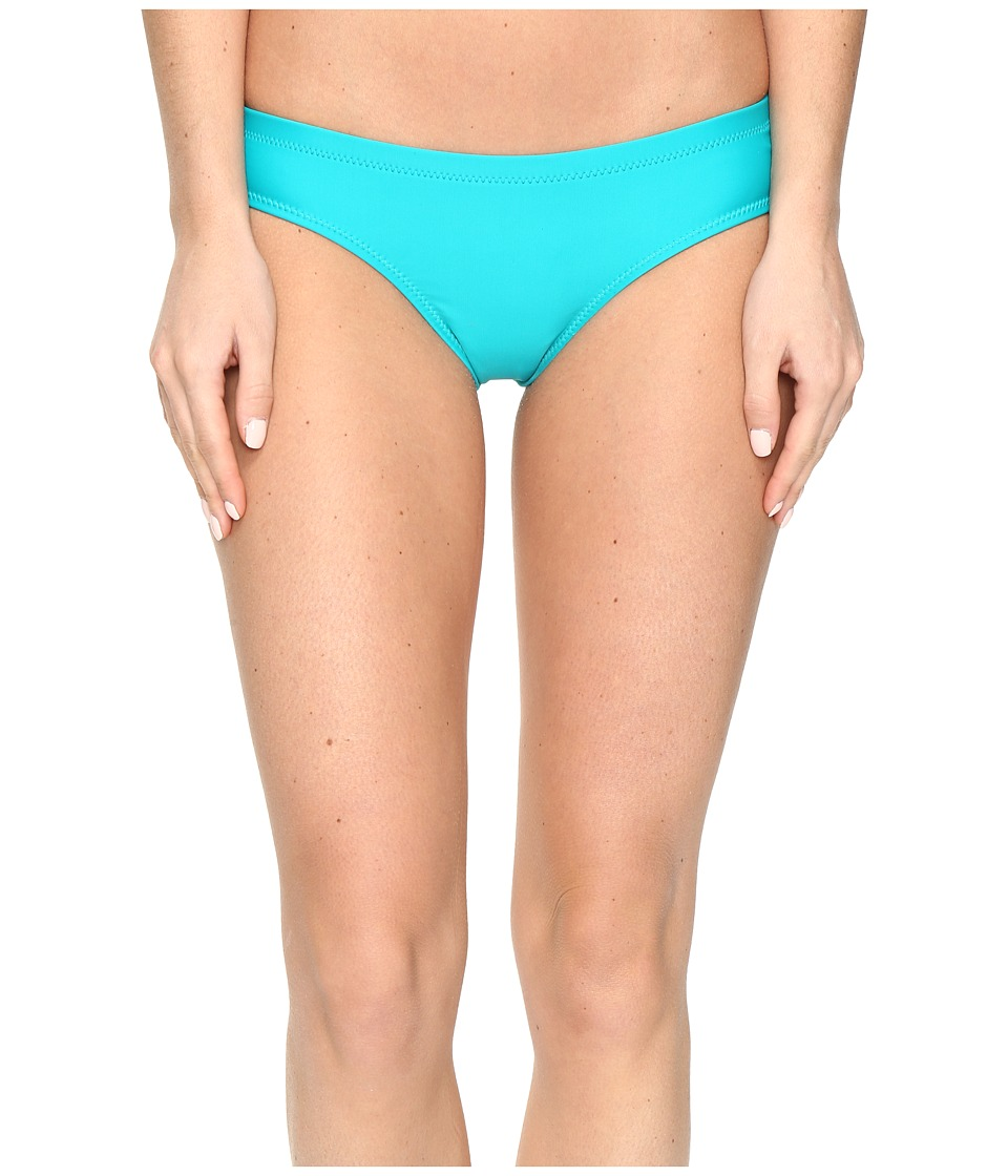 Volcom - Simply Solid Cheeky Bottom (Teal) Women's Swimwear
