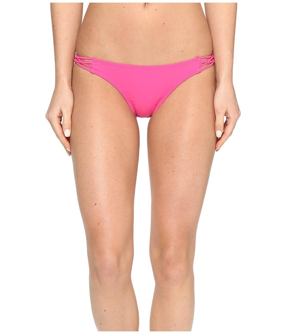 Volcom - Simply Solid Full Bottom (Scream Magenta) Women's Swimwear