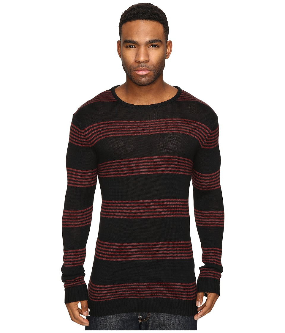 Captain Fin - Stairway Sweater (Black) Men's Sweater