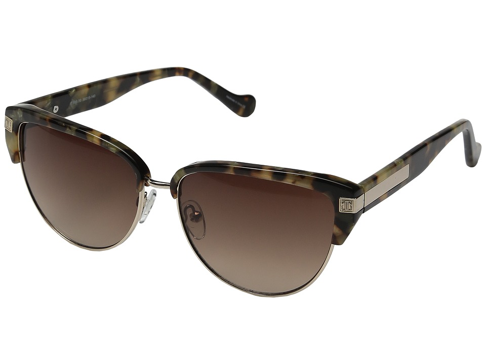 Ivanka Trump - IT 505 (Brown Marble) Fashion Sunglasses