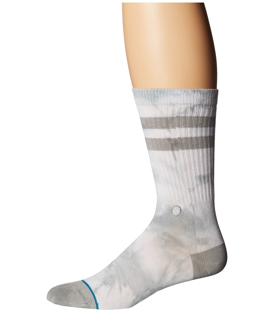 Stance - Daybreak (White) Men's Crew Cut Socks Shoes