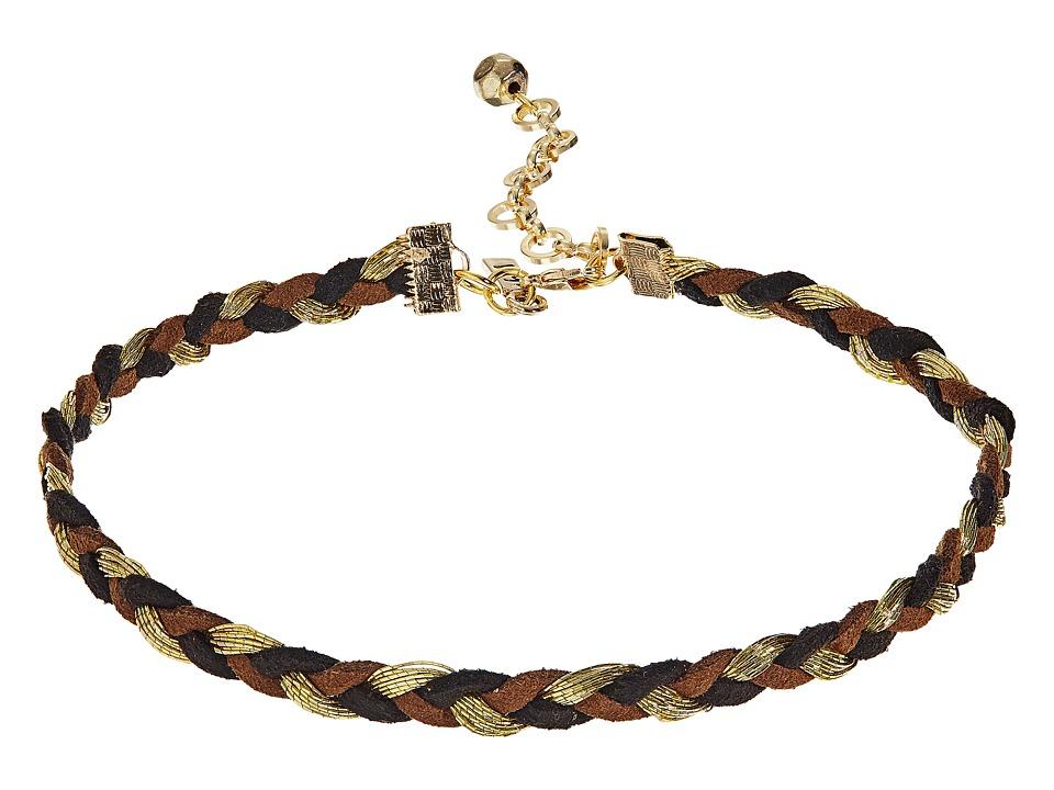 Vanessa Mooney - The Billie Choker Necklace (Gold) Necklace