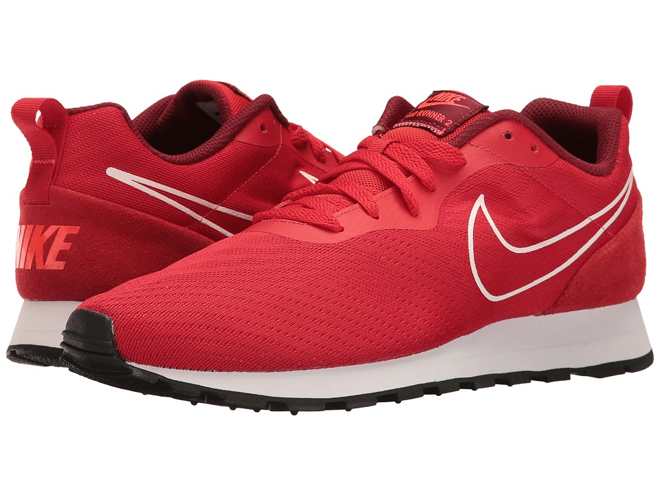 Nike - MD Runner 2 BR (University Red/University Red/Team Red) Men's Shoes