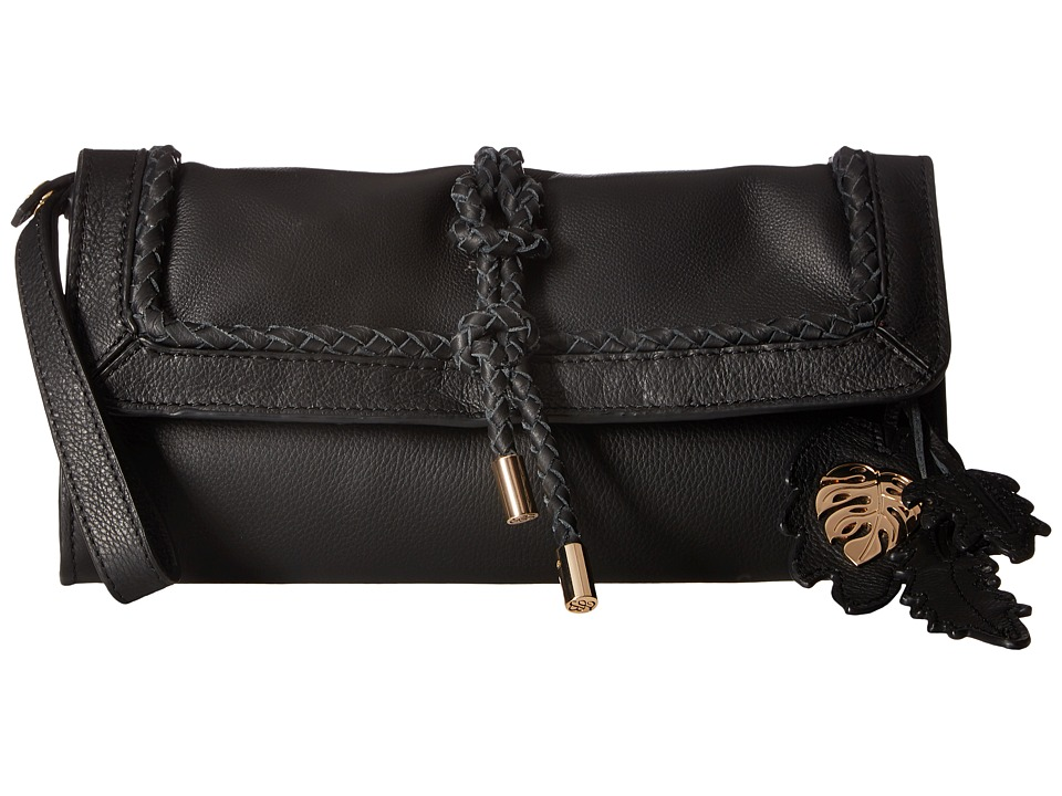 Tommy Bahama - Grenada Wristlet Clutch (Black) Clutch Handbags
