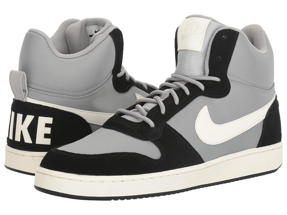 Nike - Recreation Mid Prem (Matte Silver/Sail/Black) Men's Basketball Shoes