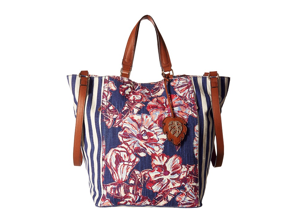 Tommy Bahama - Reef Convertible Tote (Tropical Flowers) Tote Handbags