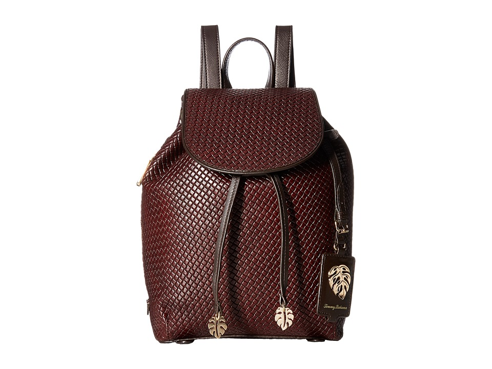 Tommy Bahama - St. Augustine Backpack (Chestnut) Backpack Bags