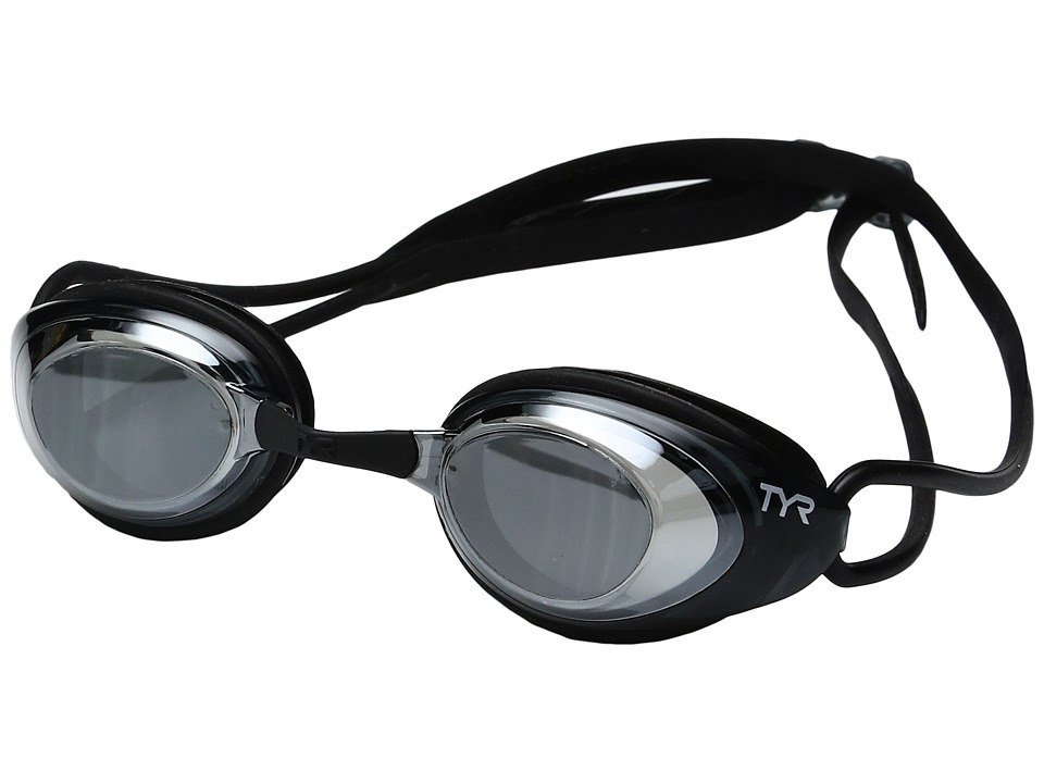 TYR - Black Hawk Racing Femme Polarized (Silver/Smoke Black) Goggles