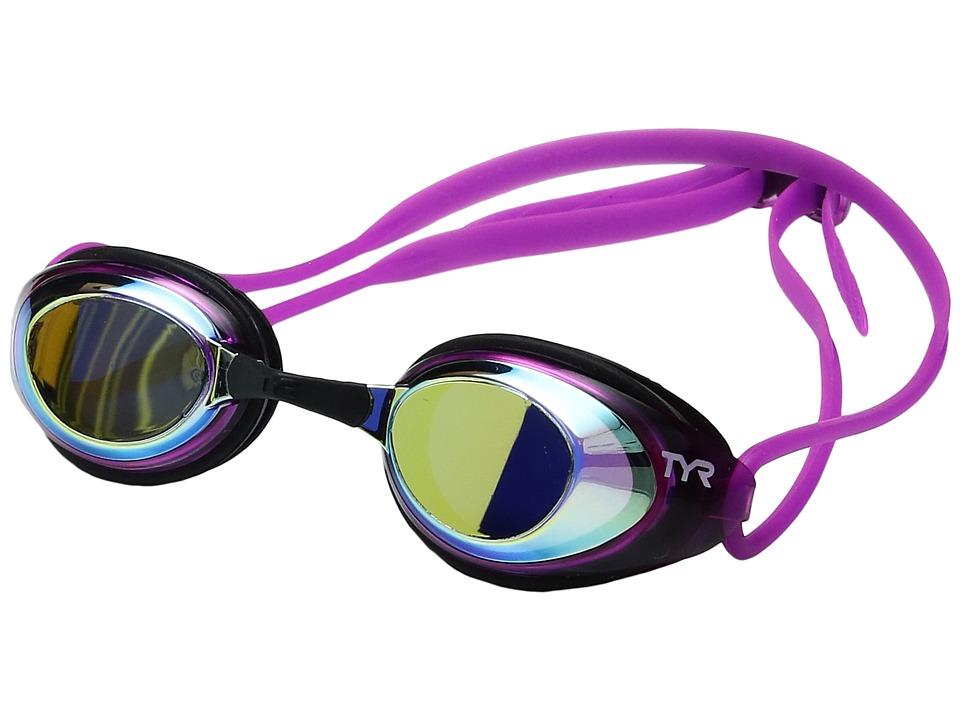 TYR - Black Hawk Racing Femme Polarized (Gold/Pink/Black) Goggles