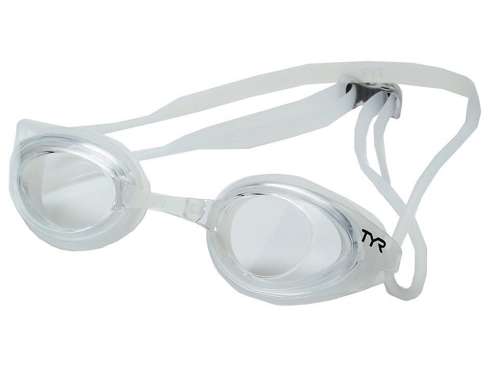 TYR - Black Hawk Racing Femme (Clear) Goggles