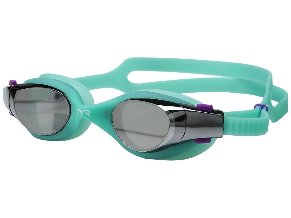TYR - Vesi Femme Mirrored (Silver Mint/Mint) Goggles