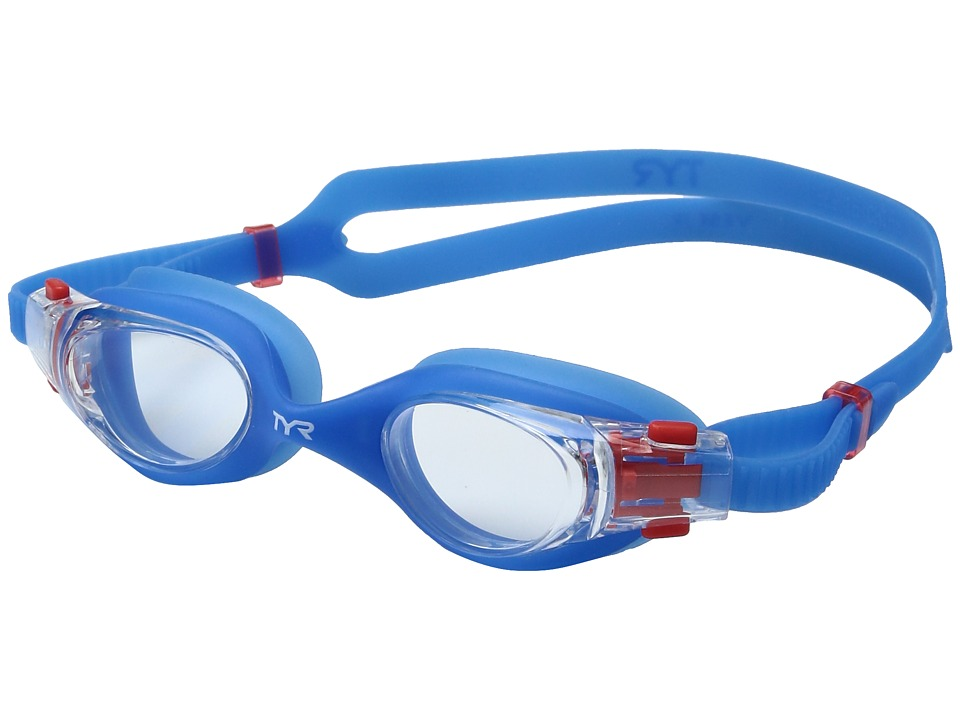 TYR - Vesi Junior (Clear/Blue/Blue) Goggles