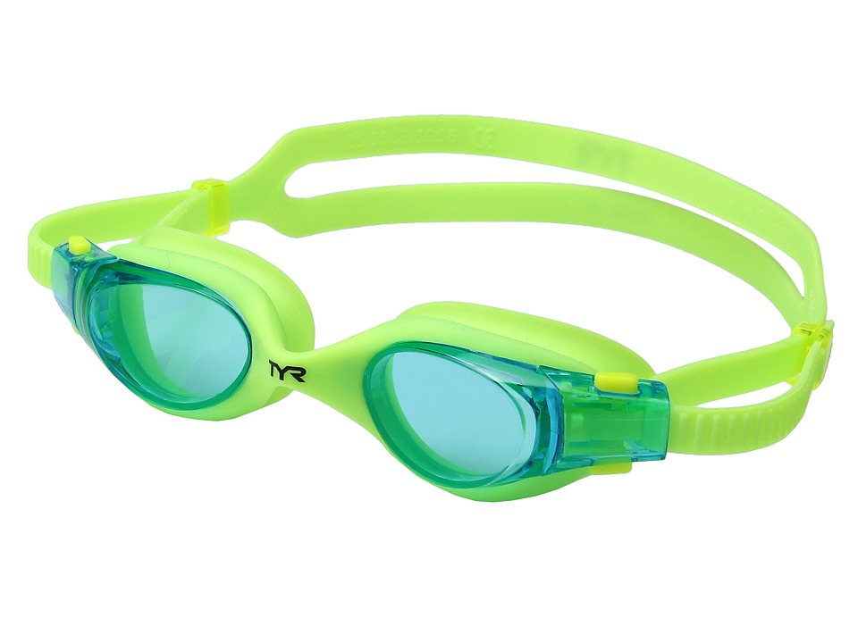 TYR - Vesi Junior (Blue/Yellow/Yellow) Goggles