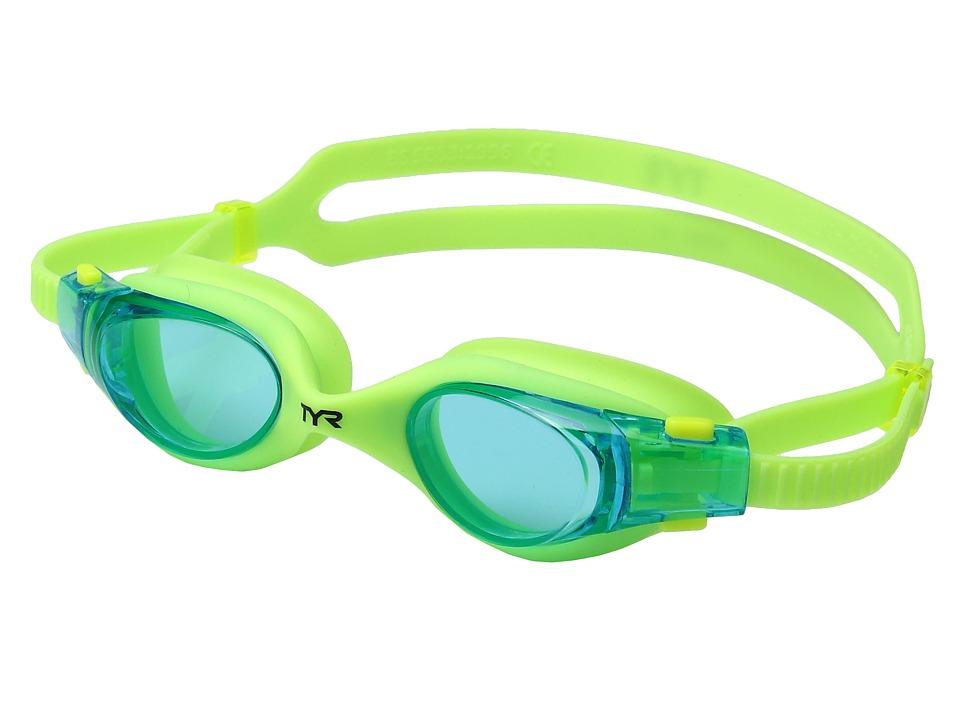 TYR - Vesi Junior (Blue/Yellow/Yellow) Goggles