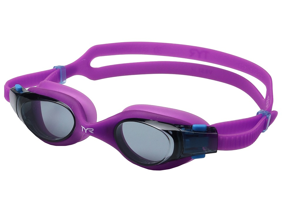 TYR - Vesi Junior (Smoke/Purple/Purple) Goggles