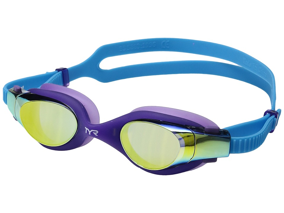 TYR - Vesi Junior Mirrored (Gold/Purple/Blue) Goggles